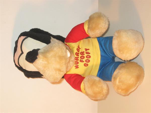 Grote foto goofy hurray for goofy disney knickerbocker kinderen en baby knuffels en pluche