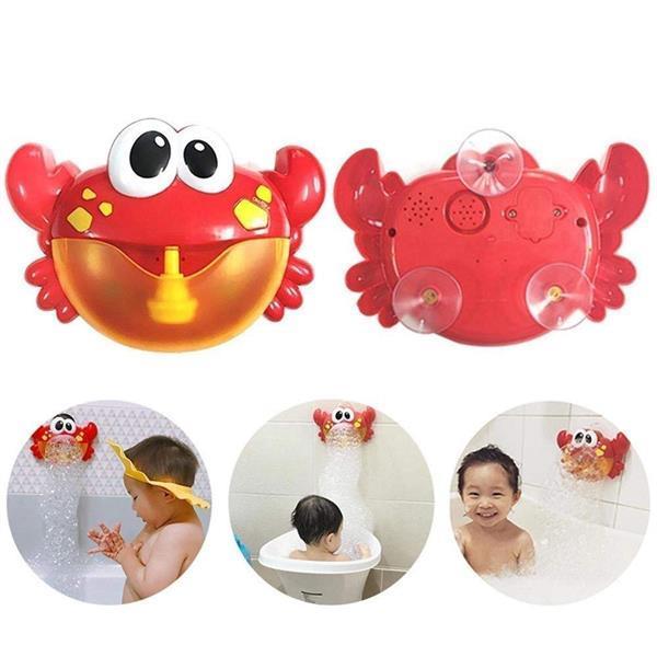 Grote foto bubble crab bubbelmachine badspeelgoed voor kinderen kinderen en baby overige babyartikelen