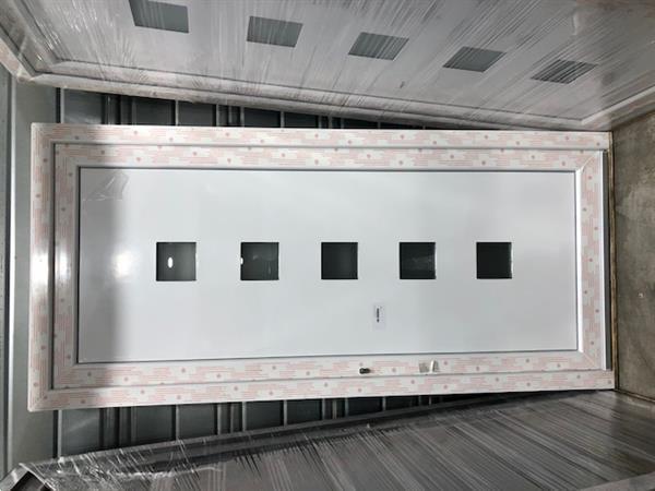 Grote foto pvc ramen wit 3000 stuks stockverkoop ramenhal doe het zelf en verbouw kozijnen en schuifpuien