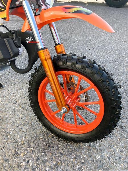 Grote foto kindercrosser 49cc ktm look fietsen en brommers crossbrommers