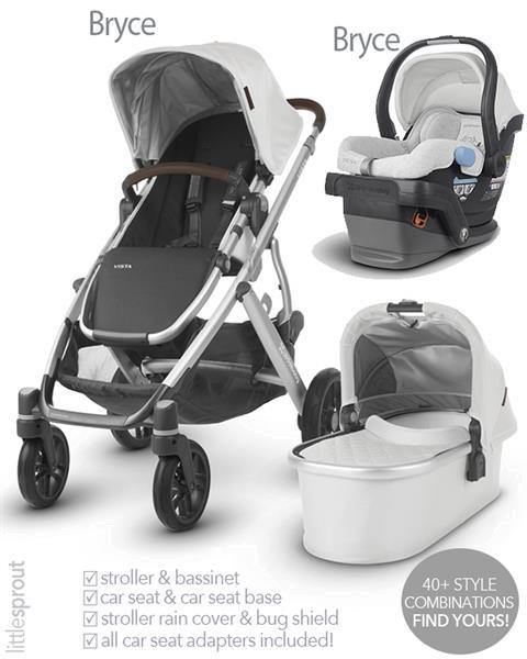 Grote foto 2019 uppababy vista wandelwagen mesa autostoel kinderen en baby kinderwagens
