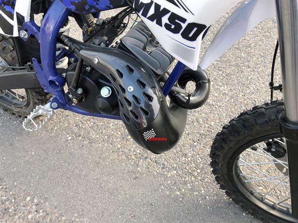 Grote foto kindercrosser benzine sx50 fietsen en brommers crossbrommers