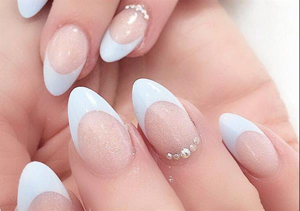 Grote foto manicure gellak gelnagels nail art beauty en gezondheid hand en voetverzorging