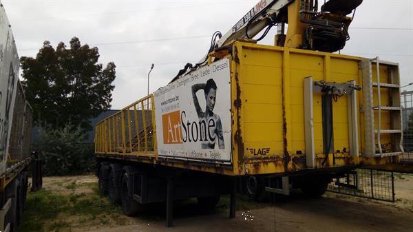 Grote foto kraantrailers auto diversen aanhangwagen onderdelen