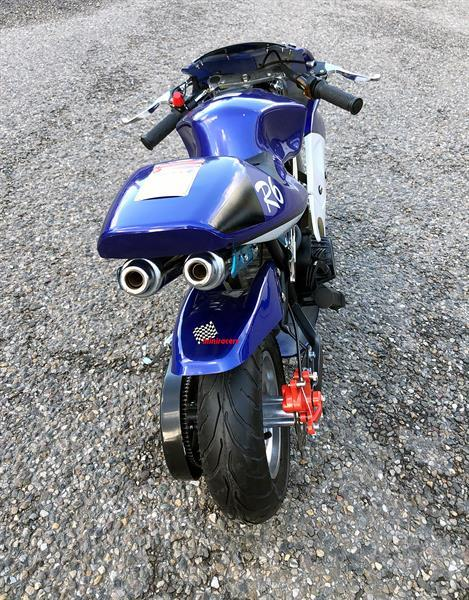 Grote foto pocketbike 49cc r6 fietsen en brommers crossbrommers