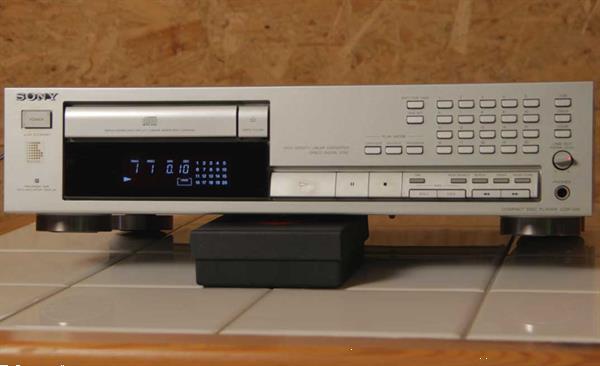Grote foto sony cdp 591 cd speler audio tv en foto cd spelers
