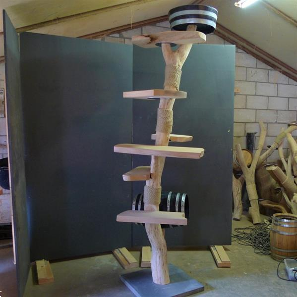 Grote foto 25 korting boom krabpalen houten krabpaal. dieren en toebehoren toebehoren