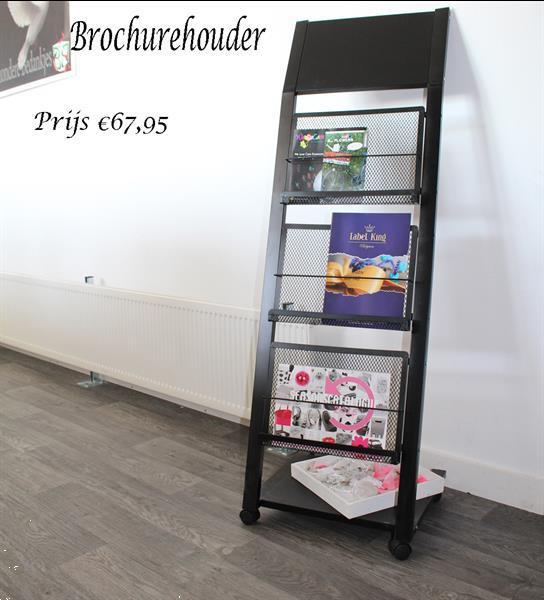 Grote foto folderdisplay voor folders en documenten zakelijke goederen overige zakelijke goederen