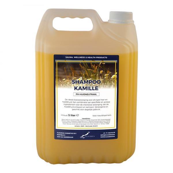 Grote foto shampoo kamille 5 liter beauty en gezondheid haarverzorging