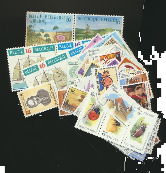 Grote foto frankeerwaarde in bef mnh xx postzegels en munten belgi