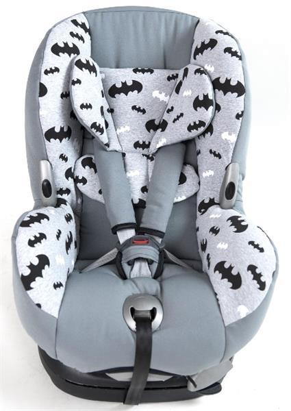 Grote foto maxi cosi overtrek batman kinderen en baby autostoeltjes
