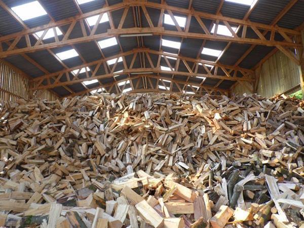 Grote foto 1st re 35 promo bois de chauffage sec tuin en terras tuinhout en palen