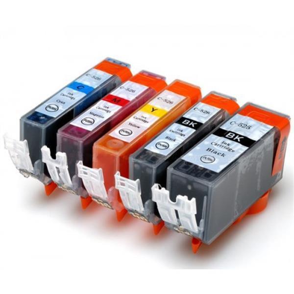 Grote foto inktcartridges canon pgi 520 cli 521 set huismerk computers en software printers