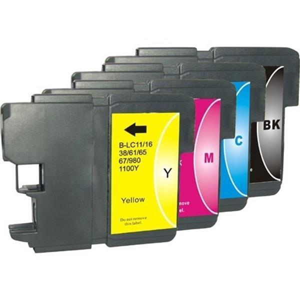 Grote foto inktcartridges brother lc 985 set huismerk computers en software printers