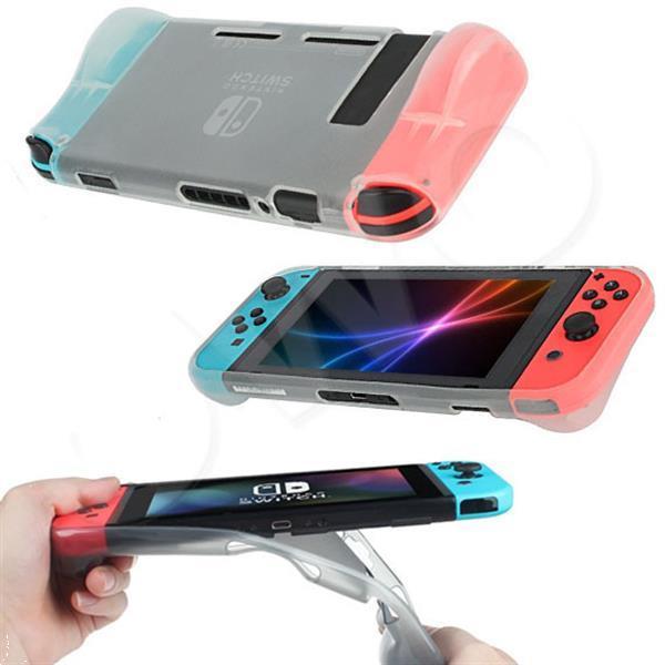 Grote foto beschermende soft cover nintendo switch case voor grip spelcomputers games overige merken