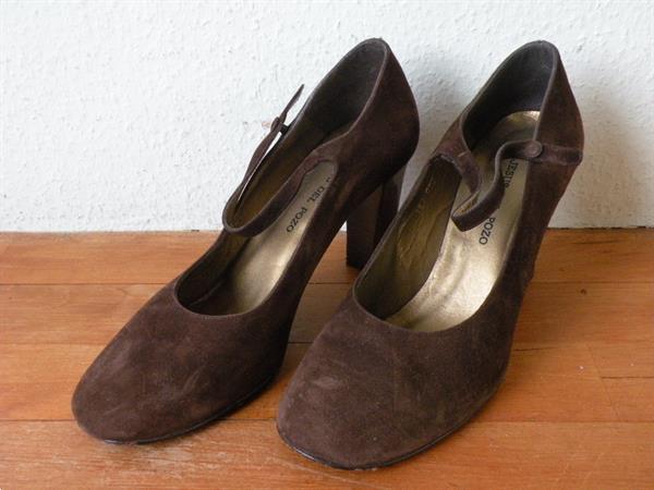 Grote foto schoenen pumps hakken. jesus del pozo. maat 41. kleding dames schoenen