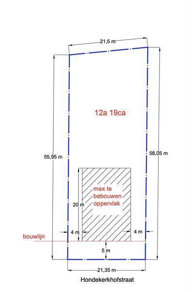 Grote foto bouwgrond 12a 19ca te koop meulebeke huizen en kamers grondkavels