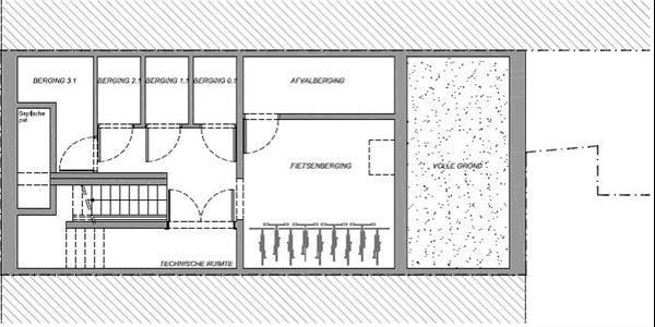 Grote foto merksem nieuwbouwproject appartement 2.1 huizen en kamers appartementen en flats