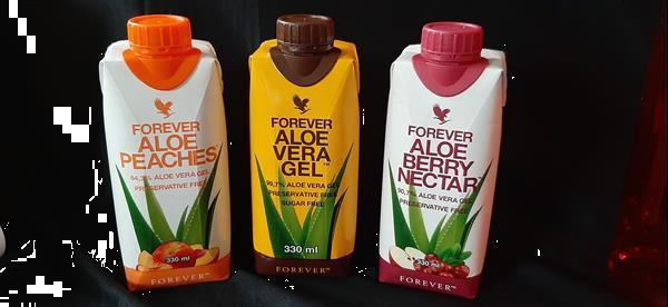 Grote foto aloe gel forever living beauty en gezondheid voedingssupplementen