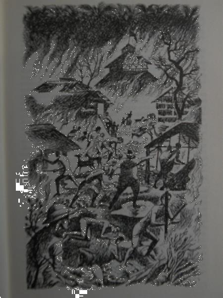 Grote foto jan de hartog gods geuzen 1956. boeken literatuur