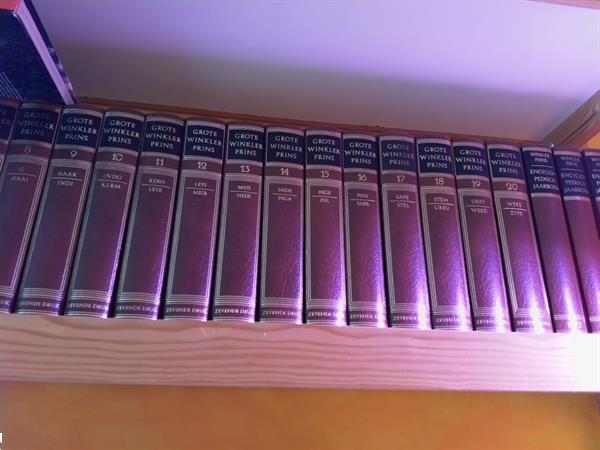 Grote foto winkler prins encyclopedie 7de druk boeken encyclopedie n