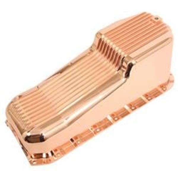 Grote foto carterpan chevrolet small block aluminium copper plated l ar auto onderdelen overige auto onderdelen