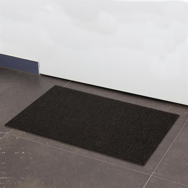 Grote foto schoonloopmat voor entree van huis of bedrijf tuin en terras deurmatten