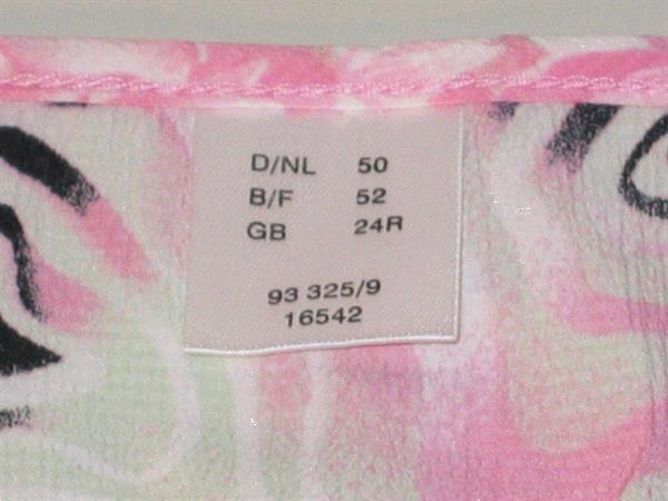 Grote foto kleurrijk topje bloesje maat 52 kleding dames tops