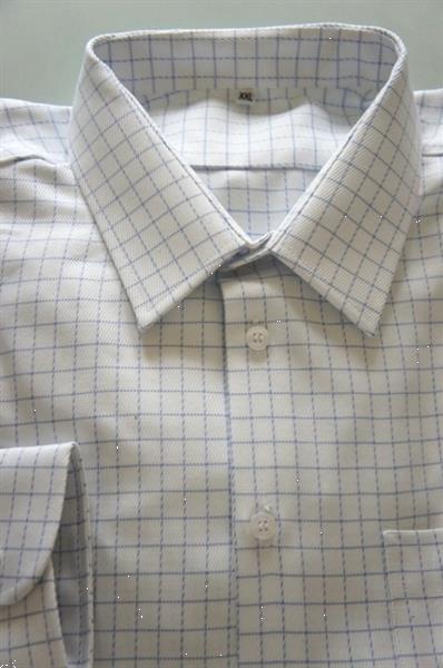 Grote foto hemd met makkelijke sluiting. kleding heren overhemden