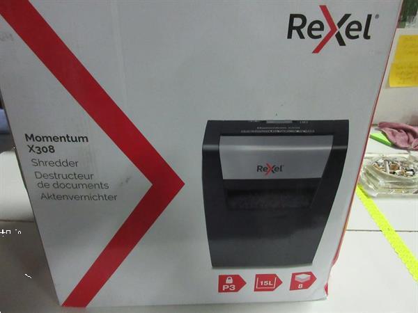 Grote foto rexel papierversnipperaar p3 momentum x308 20al 2543 zakelijke goederen kantoorartikelen