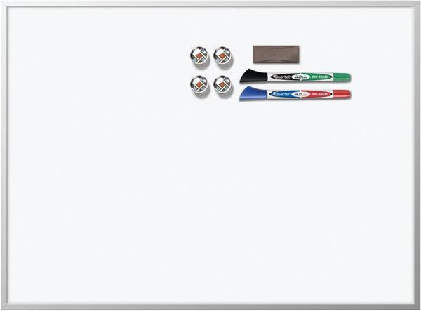 Grote foto nobo magnetisch whiteboard aluminium lijst 58 5 x 43 cm zakelijke goederen kantoorartikelen