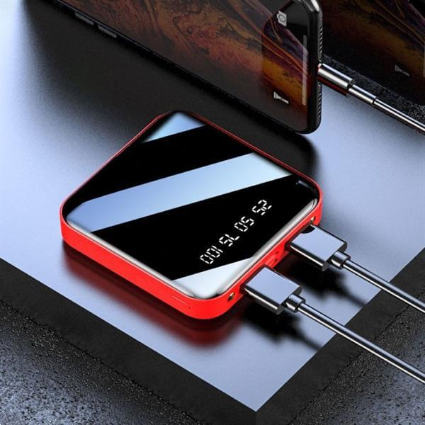 Grote foto mini externe 20.000mah powerbank 2x usb led display noodaccu telecommunicatie batterijen en accu