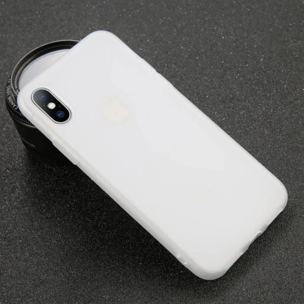 Grote foto ultraslim iphone 6 plus silicone hoesje tpu case cover wit 6 telecommunicatie mobieltjes