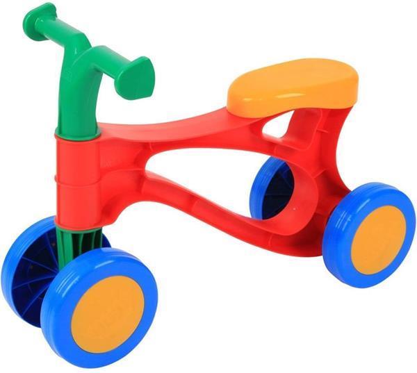 Grote foto lena my first scooter rood blauw geel loopfiets 20ap 60 kinderen en baby overige