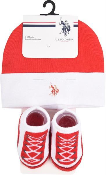 Grote foto us polo baby gift set true red maat 0 6m 20as 2046 kinderen en baby overige