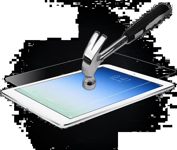 Grote foto pearlycase screenprotector 2.5d 9h voor apple ipad pro 12.9 telecommunicatie tablets