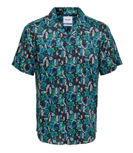 Grote foto only sons blouse greenlake kledingmaat xs kleding heren overhemden
