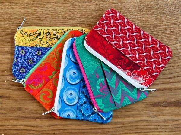 Grote foto portemonneetje van shweshwe stof uit zuid afrika sieraden tassen en uiterlijk portemonnees