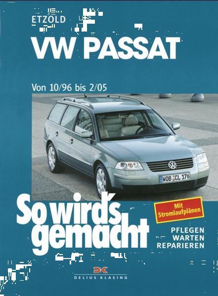 Grote foto vw passat v 1996 2005 werkplaatshandboek auto onderdelen autosport onderdelen