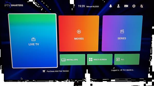 Grote foto tv smart box iptv all in audio tv en foto tv decoders