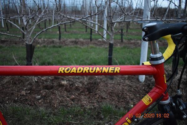 Grote foto u.scanini roadrunner retro koersfiets fietsen en brommers sportfietsen