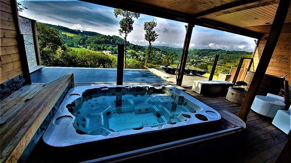 Grote foto durbuy ardennen luxe wellness chalet te huur vakantie belgi