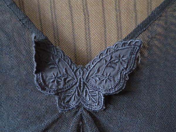 Grote foto feestelijk topje in rekbare kant maat l xl kleding dames tops