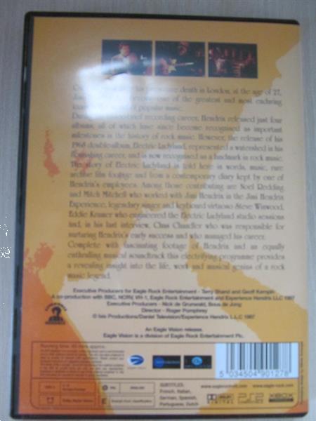 Grote foto 3 dvd van jimi hendrix cd en dvd muziek en concerten