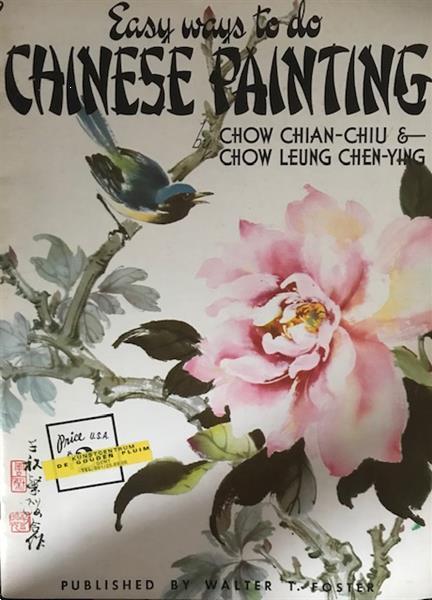 Grote foto easy ways to do chinese painting twee boekjes boeken hobby en vrije tijd