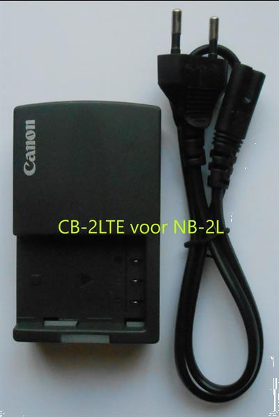 Grote foto canon lader cb 2lte voo nb 2l audio tv en foto accu en batterijen