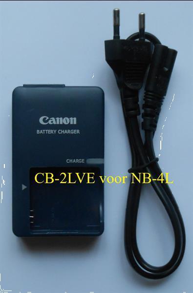 Grote foto canon lader cb 2lxe voor nb 5l nieuw audio tv en foto accu en batterijen