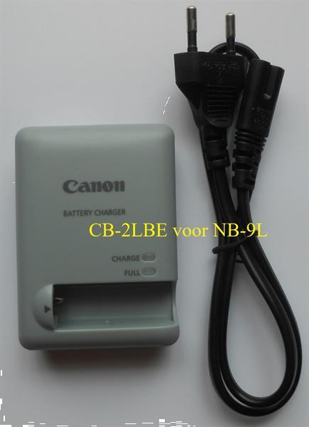 Grote foto canon lader cb 2lbe voor nb 9l nieuw audio tv en foto accu en batterijen