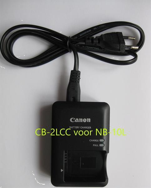 Grote foto canon lader cb 2lcc voor nb 10l nieuw audio tv en foto accu en batterijen