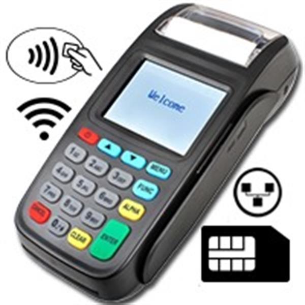 Grote foto betaalterminal bancontact zakelijke goederen kassa en betaalsystemen